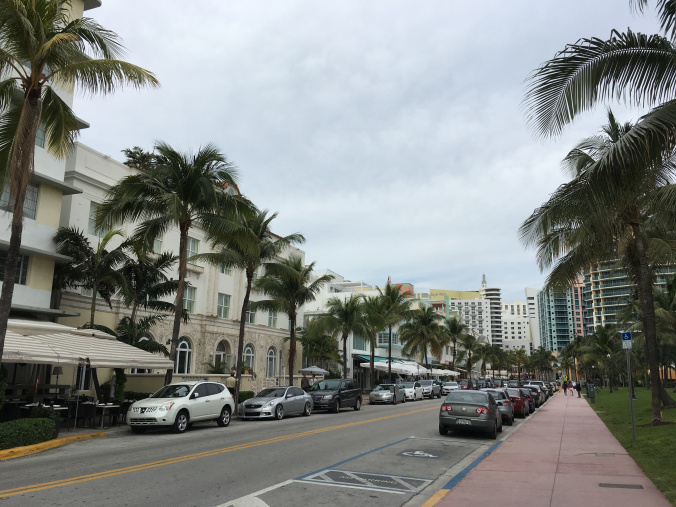 Miami - ocean drive view