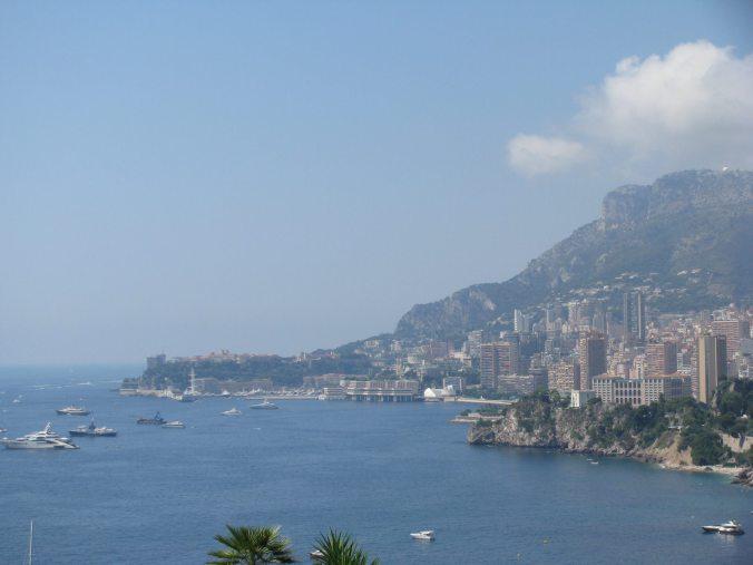 Monaco - monte carlo view