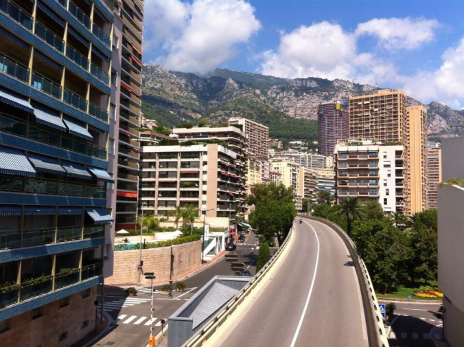 Monaco - street
