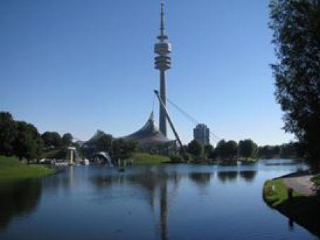 Munchen - olympiapark view