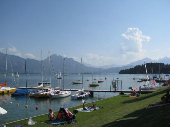 Neuschwanstein - boats