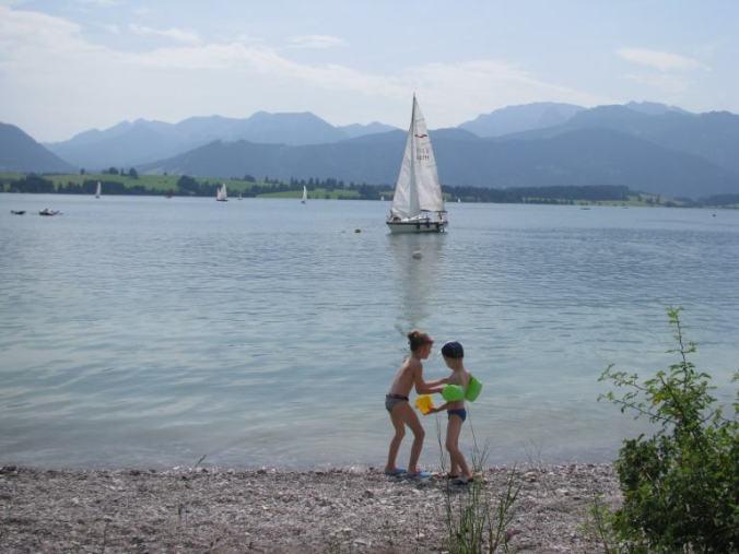 Neuschwanstein - swim