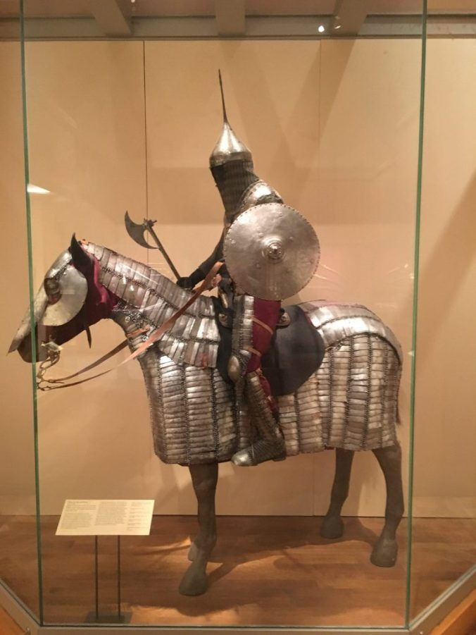 New York MET - horseman
