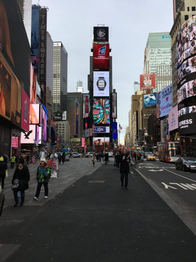 New York - times square by day