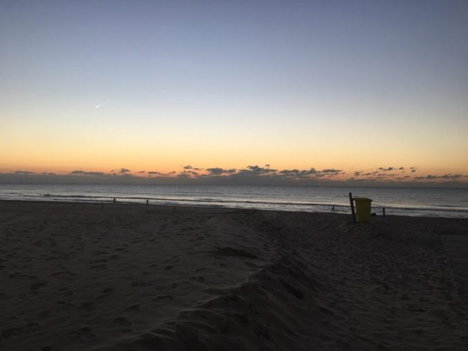 Noordwijk - sunset beach