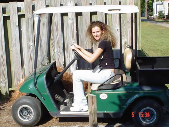 North Carolina si Washington DC - golf car