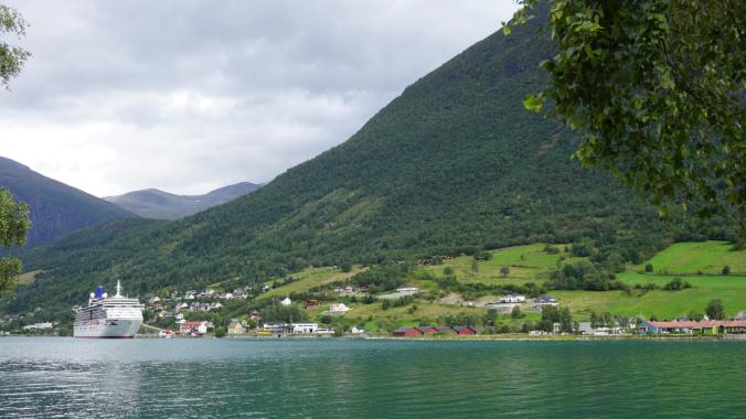 Norvegia - briksdal glacier boat