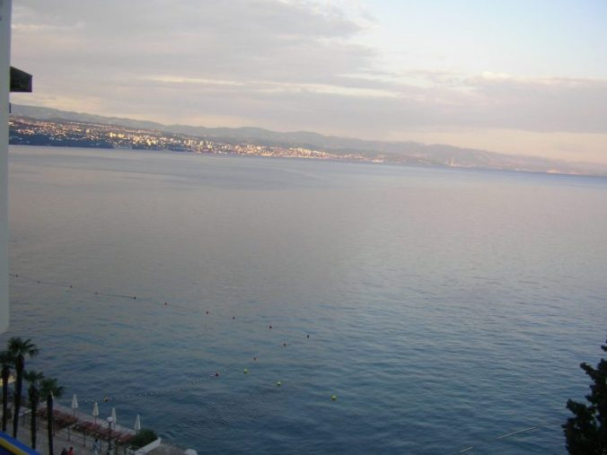 Opatija - hotel view