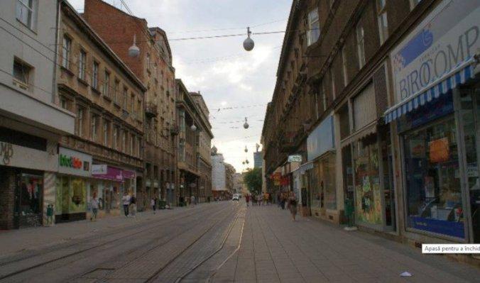 Opatija - zagreb pedestrian street