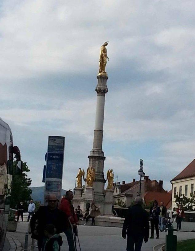 Opatija - zagreb statues