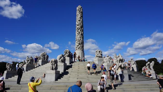 Oslo - vigeland park2