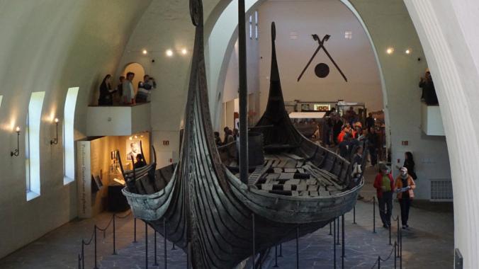 Oslo - viking boat