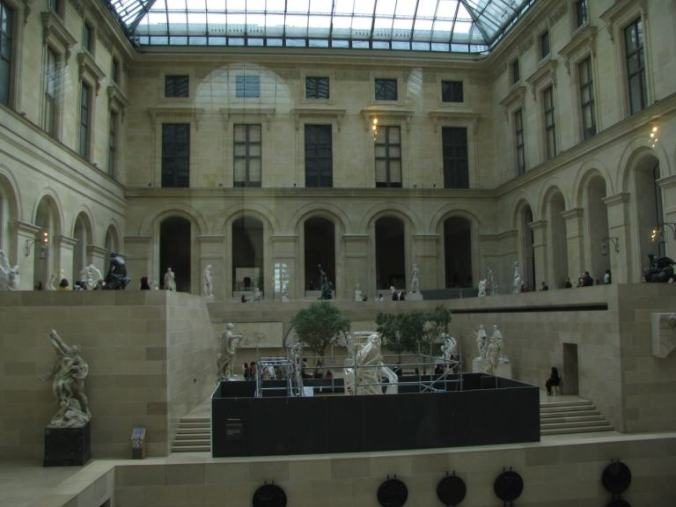 Paris - louvre indoor