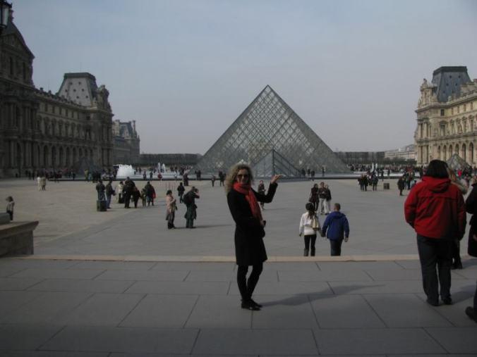 Paris - louvre pyramid