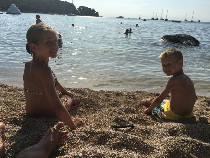 Rovinj - beach