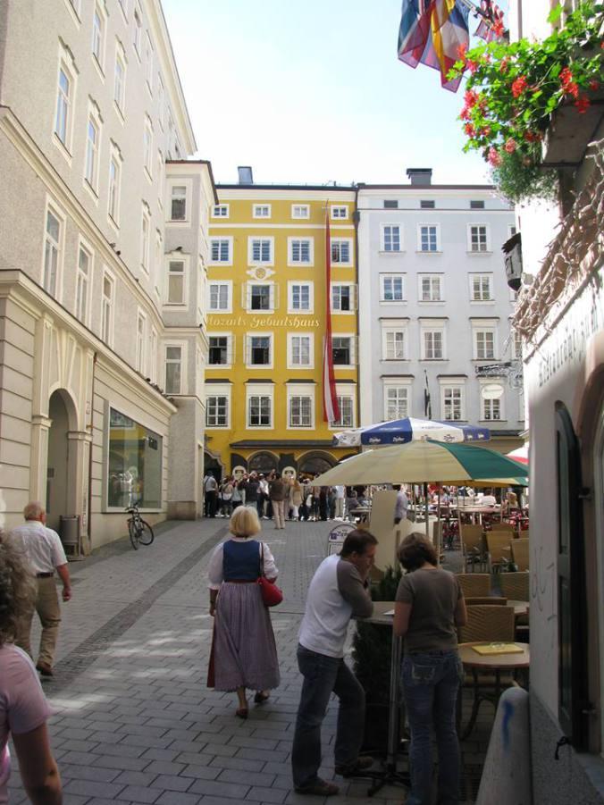 Salzburg - Mozart house