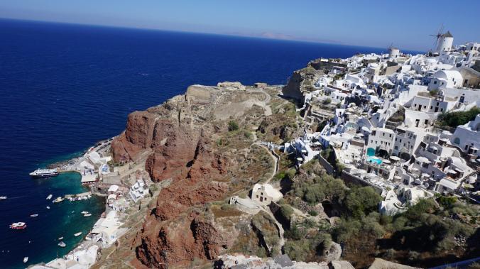 Santorini - oia panoramic