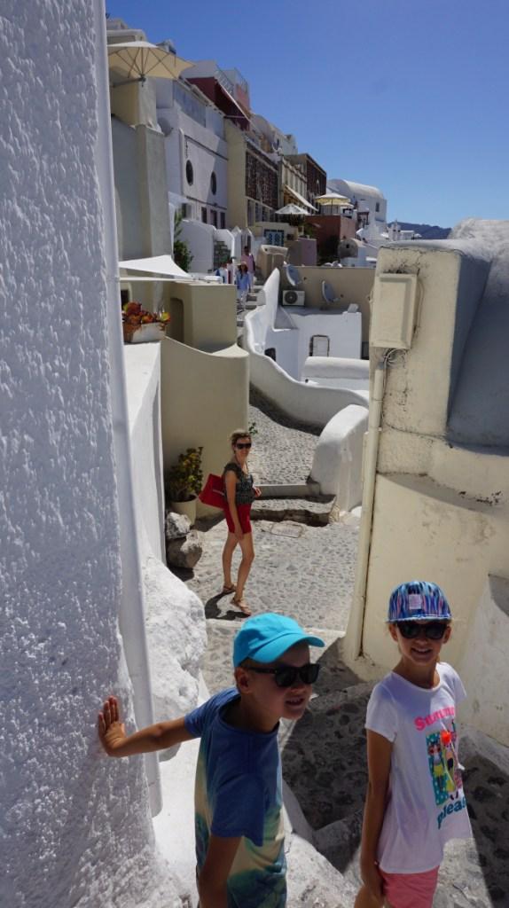 Santorini - oia streets