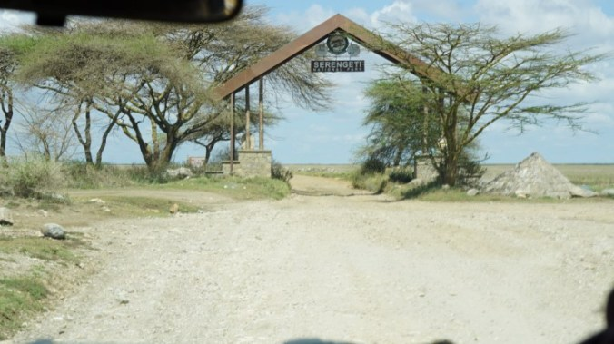 Serengeti - park entrance