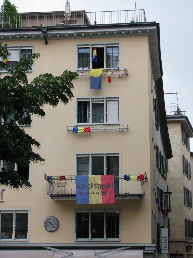 St. Gallen - Romanian fans