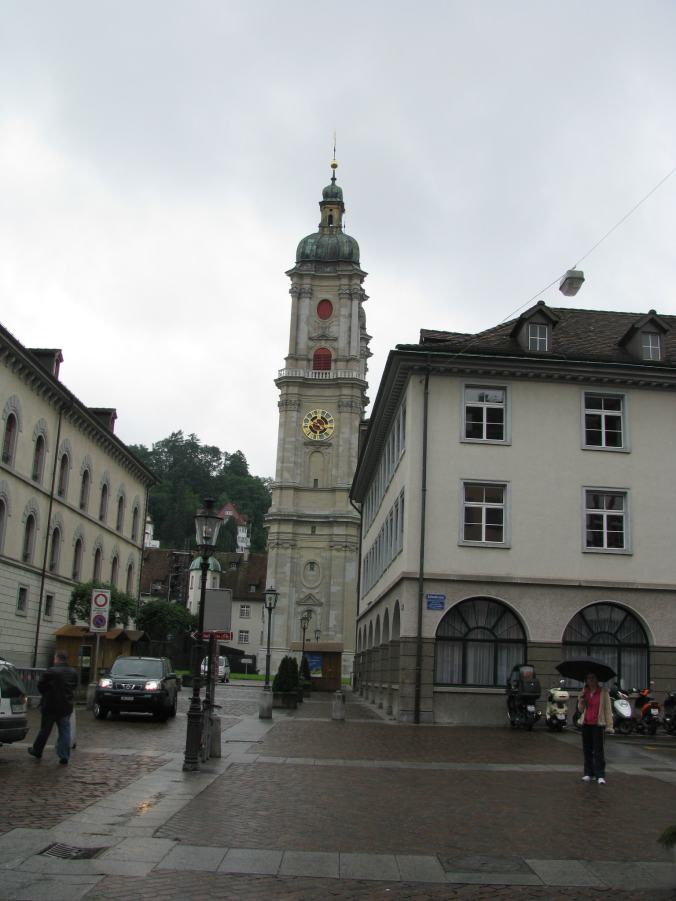 St. Gallen - church square