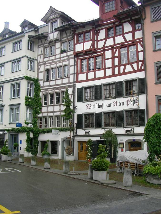 St. Gallen - houses