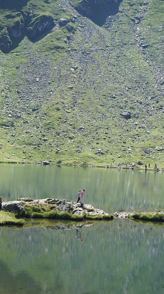 Transfagarasan - balea lac view