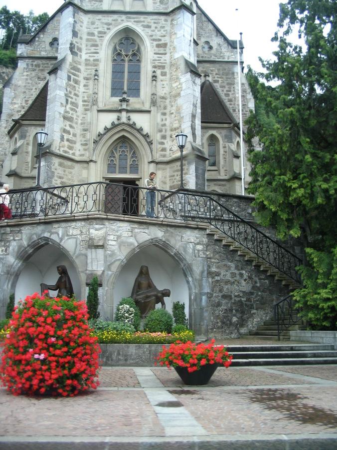 Vaduz Liechtenstein - church
