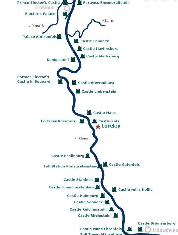 Valea Rinului - map