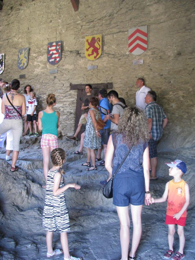 Valea Rinului - marksburg castle tour