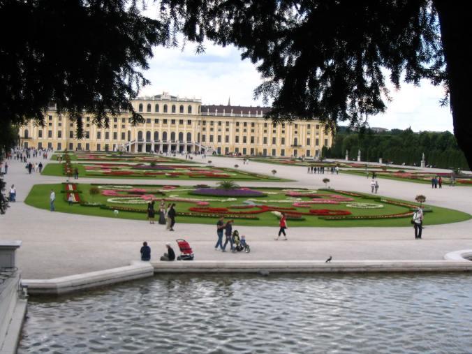 Viena - schonbrunn view