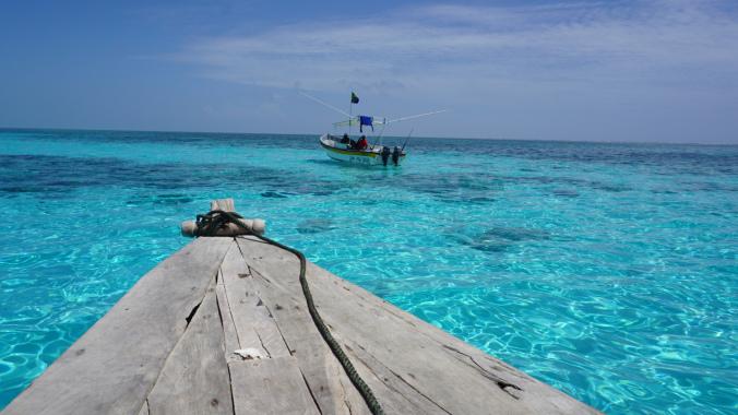 Zanzibar Tanzania - bariera de corali
