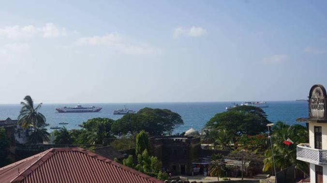 Zanzibar - stone town ocean view