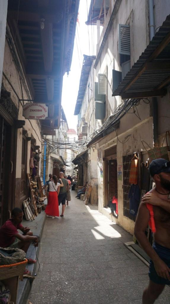 Zanzibar - stone town shops
