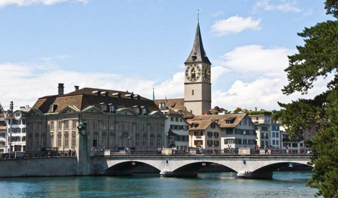 Zurich - church
