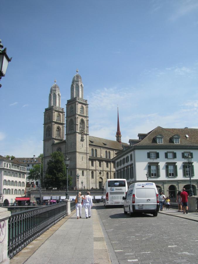 Zurich - grossmunster