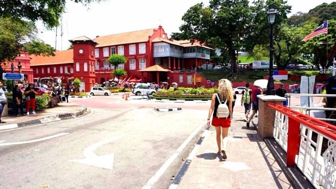 Malacca - dutch market