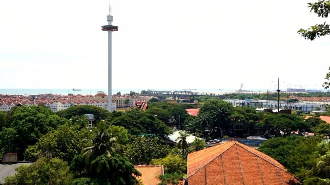 Malacca - harbor view
