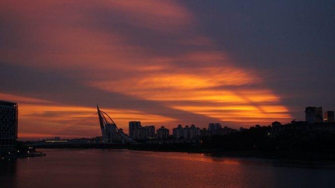 Malaezia - Putrajaya sunset