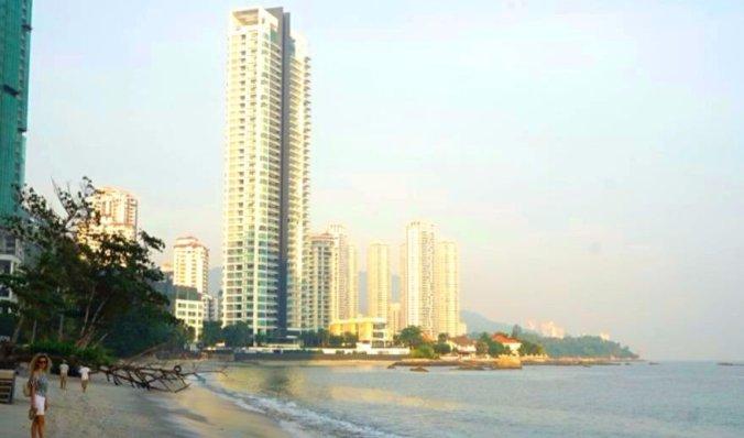 Penang - beach
