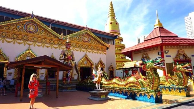 Penang - burmese temple