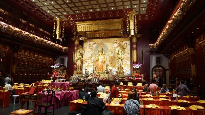 Singapore - Buddha temple2