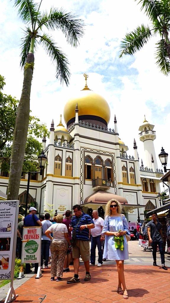 Singapore - Moscheea sultanului