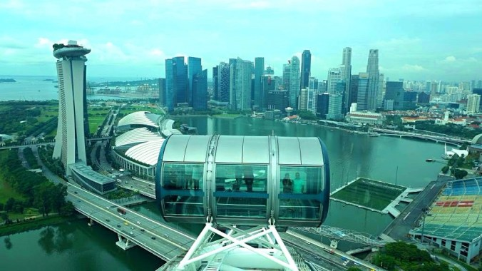 Singapore - flyer view