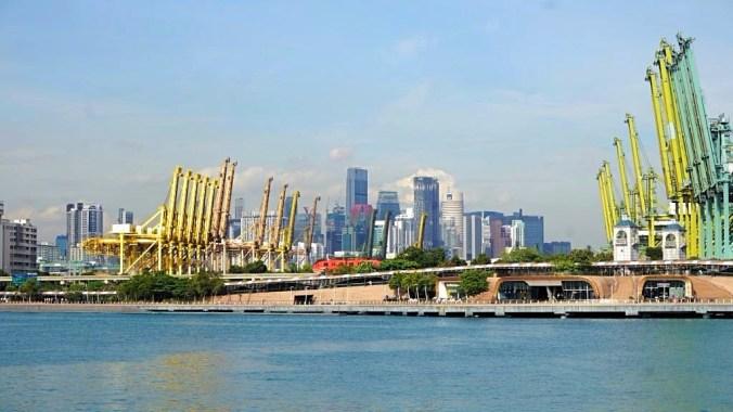Singapore - harbour