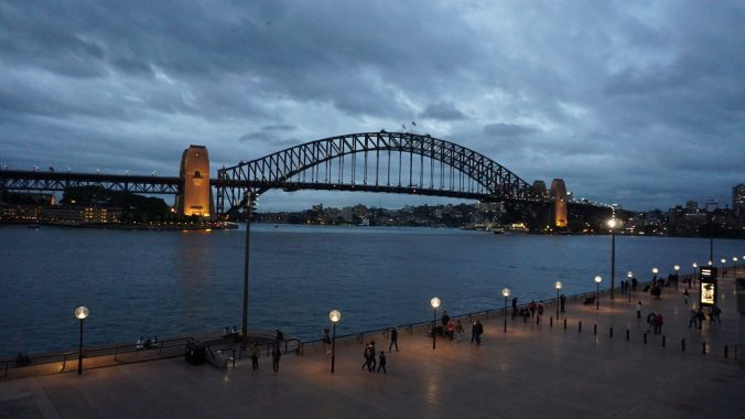 Sydney - Harbour bridge1