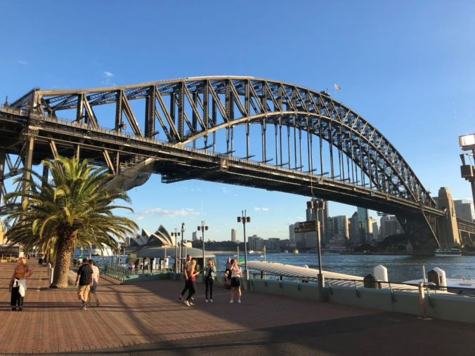 Sydney - Harbour bridge3