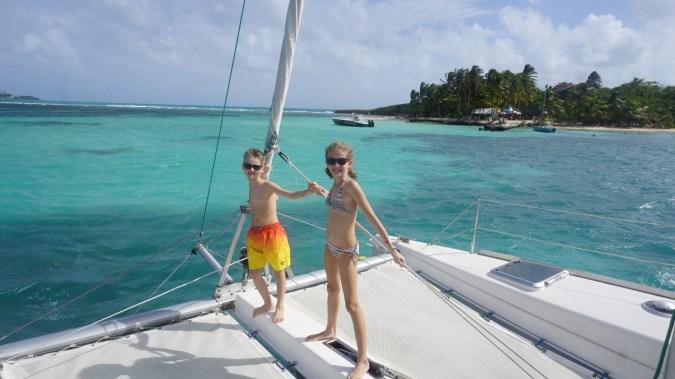 Guadeloupe - catamaran3