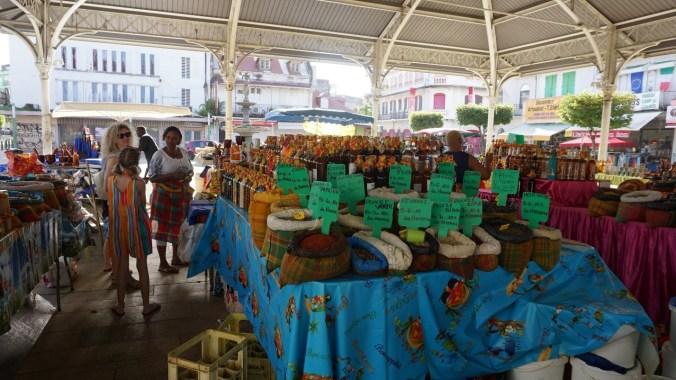Guadeloupe - spice market1