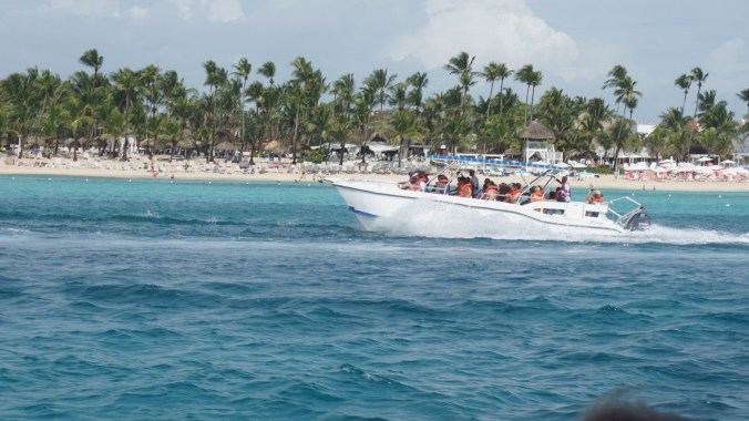 Republica Dominicana - speed boat